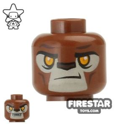 LEGO Mini Figure Heads - Lion - Lavertus