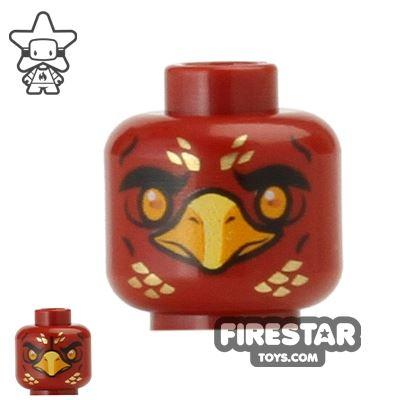 LEGO Mini Figure Heads - Phoenix - Fluminox