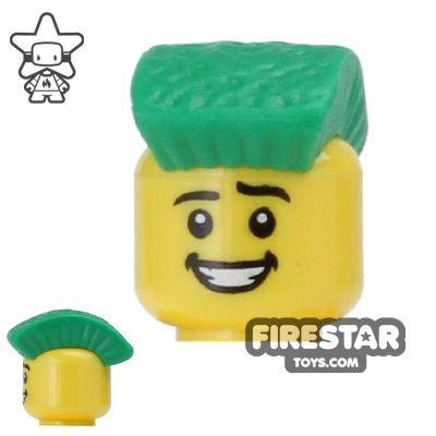 BrickForge Hair - Mohawk - Green