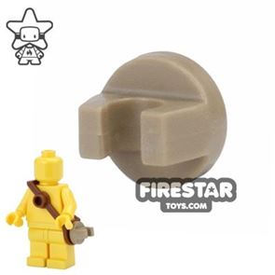 BrickForge - Round Clip - Dark Tan - RIGGED System