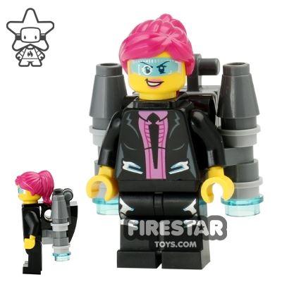 LEGO Ultra Agents Mini Figure - Agent Caila Phoenix with Jetpack