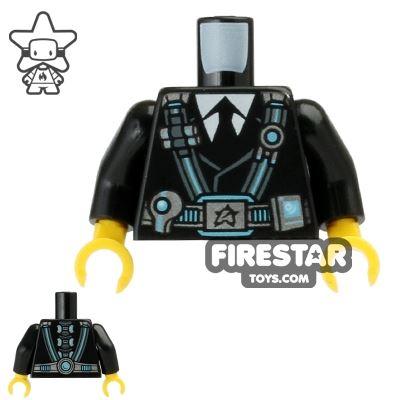 LEGO Mini Figure Torso - Ultra Agents Curtis Bolt