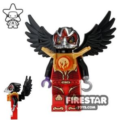 LEGO Legends of Chima Mini Figure - Razar- Fire Chi
