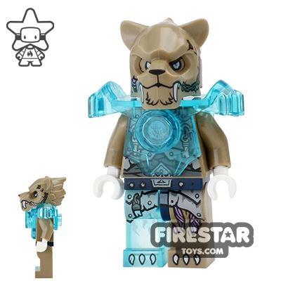 LEGO Legends of Chima Mini Figure - Strainor - Heavy Armour