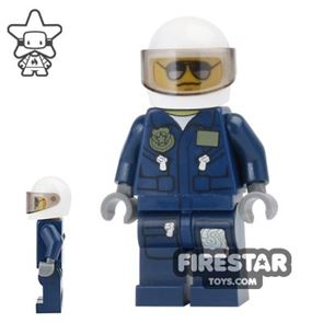 LEGO City Mini Figure - Forest Police Helicopter Pilot 4