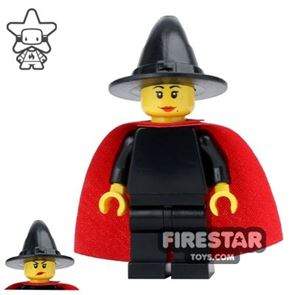 LEGO Castle - Witch - Red Cape