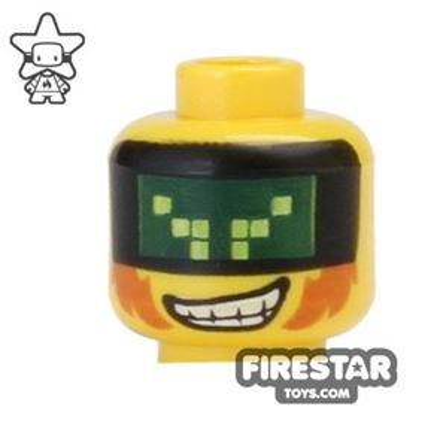 LEGO Mini Figure Heads - Terabyte Visor