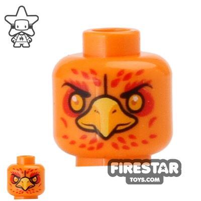 LEGO Mini Figure Heads - Phoenix - Frax
