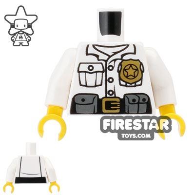 LEGO Mini Figure Torso - Ultra Agents City Guard