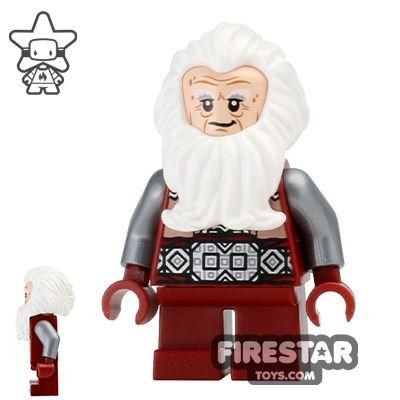 LEGO The Hobbit Mini Figure - Balin the Dwarf - No Cape