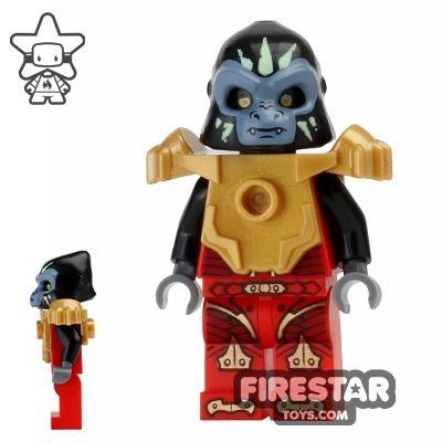 LEGO Legends of Chima Mini Figure - Gorzan - Fire Chi