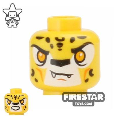LEGO Mini Figure Heads - Leopard - Lundor