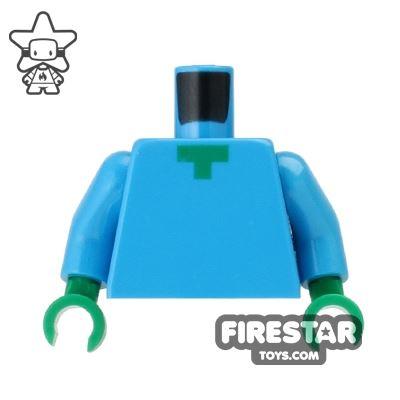 LEGO Mini Figure Torso - Minecraft Zombie