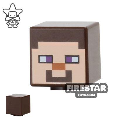 LEGO Minifigure Heads Minecraft Steve