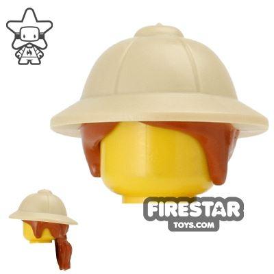 LEGO Safari Hat with Ponytail