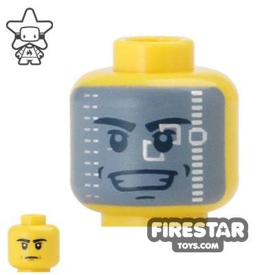 LEGO Mini Figure Heads - Galaxy Trooper