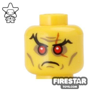 LEGO Mini Figure Heads - Evil Wizard