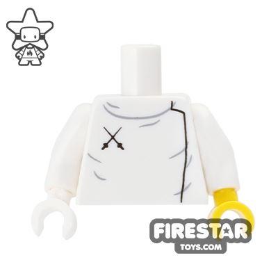 LEGO Mini Figure Torso - Fencing Jacket