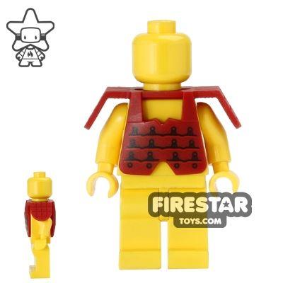 LEGO - Ninja Armour - Dark Red