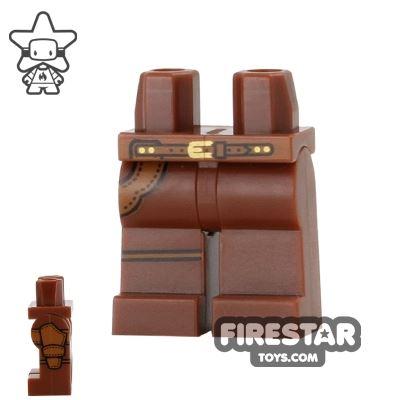 LEGO Mini Figure Legs - Sheriff - Gun Holster