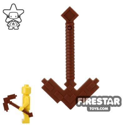 LEGO - Minecraft Pickaxe - Reddish Brown