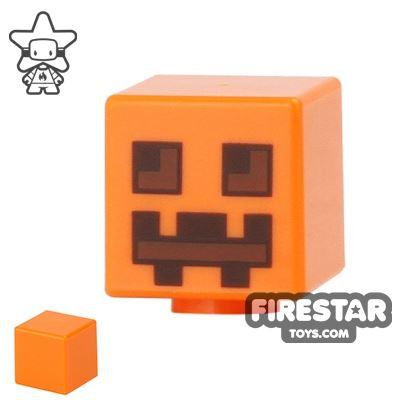 LEGO Mini Figure Heads - Minecraft Pumpkin Jack O' Lantern