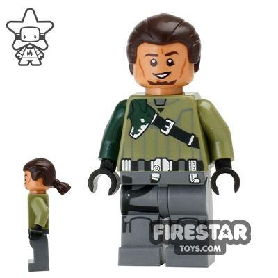 LEGO Star Wars Mini Figure - Kanan Jarrus - Dark Brown Hair