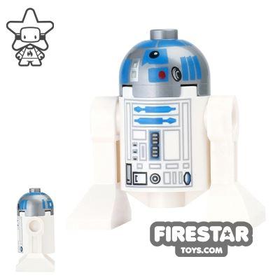 LEGO Star Wars Mini Figure - R2-D2 - Flat Silver Head