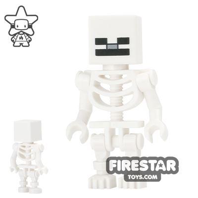 LEGO Minecraft Mini Figure - Skeleton - Cube Skull