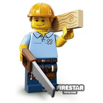 LEGO Minifigures - Carpenter