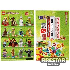 LEGO - Minifigures Series 13 Collectable Leaflet