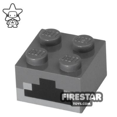 Printed Brick 2x2 - Minecraft Print