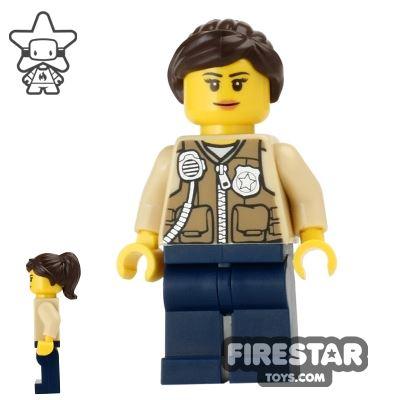 LEGO City Mini Figure - Swamp Police - Female Officer