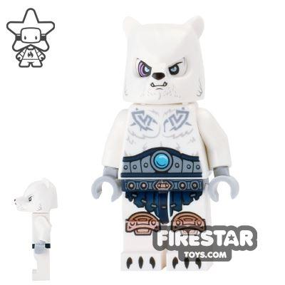 LEGO Legends of Chima Mini Figure - Ice Bear Warrior 1