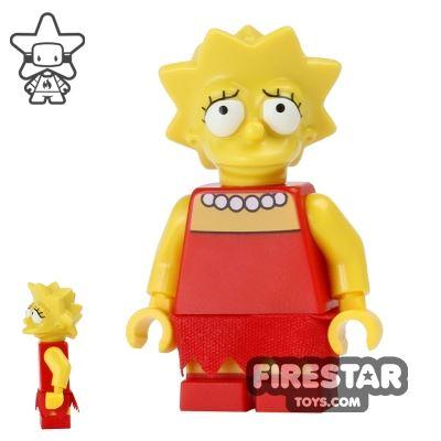 LEGO The Simpsons - Lisa - Worried
