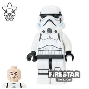 LEGO Star Wars Mini Figure - Stormtrooper - Printed Legs and Open Mouth