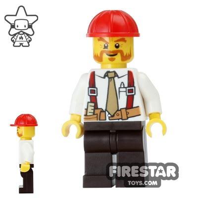 LEGO City Mini Figure - Construction Foreman