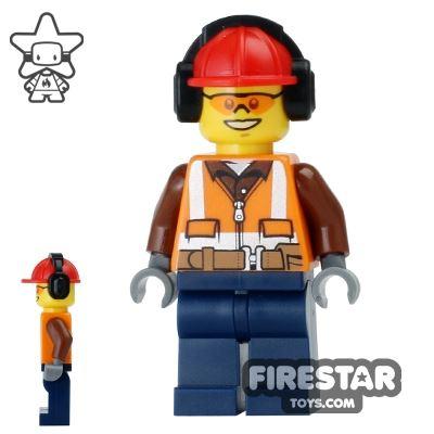 LEGO City Mini Figure - Construction Worker 14