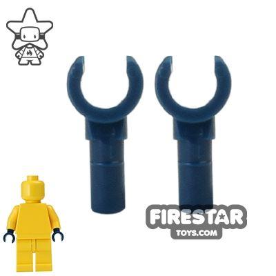 LEGO Mini Figure Hands - Pair - Dark Blue