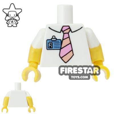 LEGO Mini Figure Torso - The Simpsons - Homer Simpson Shirt and Tie