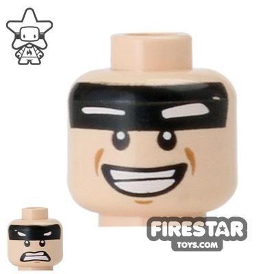 LEGO Mini Figure Heads - Batman - Smile / Scared