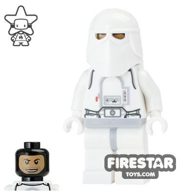 LEGO Star Wars Mini Figure - Snowtrooper - Printed Head