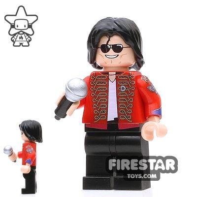 Custom Design Minifigure King of Pop