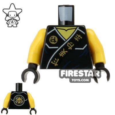 LEGO Mini Figure Torso - Ninjago - Cole