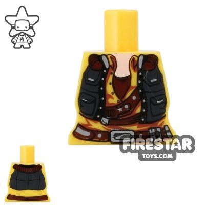 Arealight Mini Figure Torso - Smuggler - Yellow