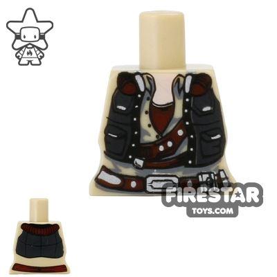Arealight Mini Figure Torso - Smuggler - Tan