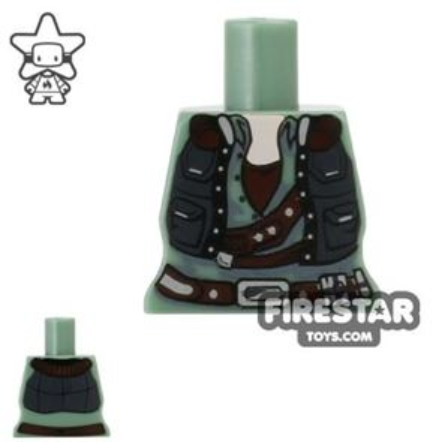 Arealight Mini Figure Torso - Smuggler - Sand Green