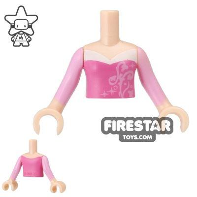 LEGO Disney Princess Mini Figure Torso - Pink and Lavender