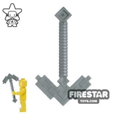 LEGO - Minecraft Pickaxe - Flat Silver