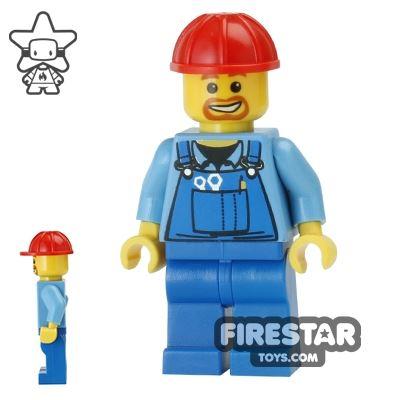 LEGO City Mini Figure - Construction Worker 16